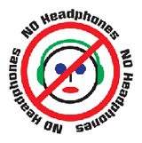 No Headphones